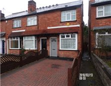 2 bedroom end of terrace house to rent Maney