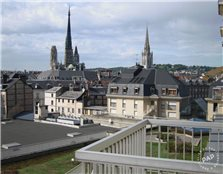Location appartement 51 m² Rouen (76000)