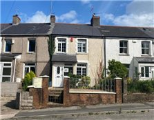 2 bedroom terraced house to rent Twyn-yr-odyn