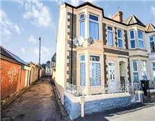 3 bed end terrace house for sale Cathays