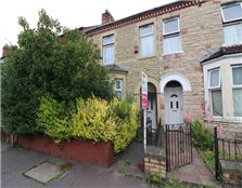 4 bed terraced house for sale Grangetown