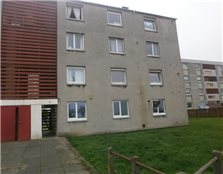 3 bedroom unfurnished flat to rent Stenhouse