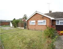 2 bedroom semi-detached bungalow to rent Leiston