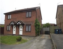 2 bed property to rent Wilford