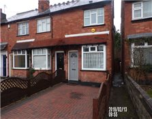 2 bed end terrace house to rent Maney