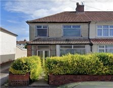 3 bed end terrace house for sale Pill